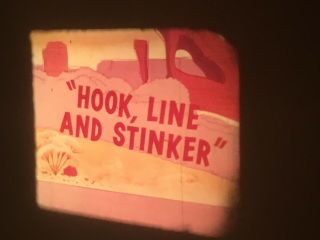 16mm Road Runner Cartoon Hook,  Line And Stinker Warner Bros.  Chuck Jones