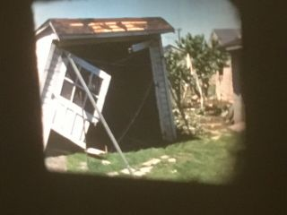 16mm Home Movie Tornado Storm Devastation Ohio 1950s