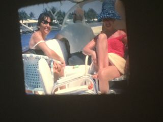 16mm Home Movies Sexy Swimsuit Wives Boats Alcohol 200'