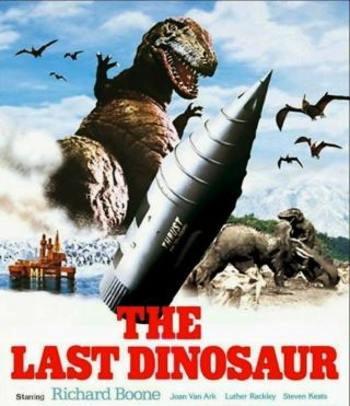 16mm Film The Last Dinosaur (1977) Llp Color Tvprint Godzilla