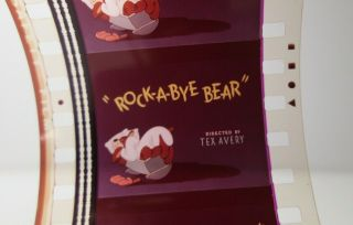 35mm Film Tex Avery Cartoon Rock - A - Bye Bear Mgm 1952 Color Butch/spike Dog