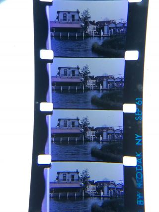 16mm Silent Kodachrome Home Movie Freedomland Bronx Ny Aquarium Etc 1961 100""