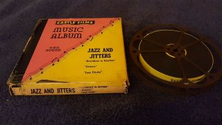 "Castle Films - "" Jazz And Jitters "" - 16mm Sound,  B&w"