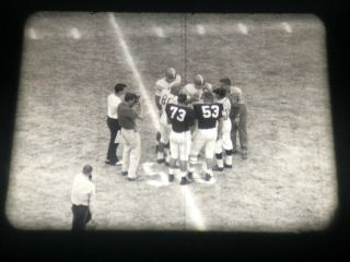 16mm Ncaa Football: 1956 Texas Vs Oklahoma,  Mostly Complete Game