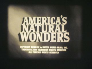 16 Mm B & W Sound 282 Castle Films America