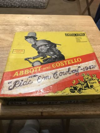 "Abbot And Costello ""ride Em' Cowboy"" 16mm"