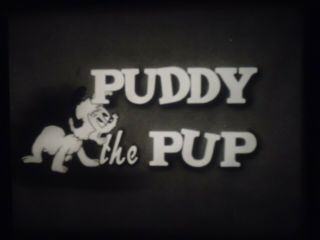 16mm Puddy The Pup Castle Films Silent Puddy Picks A Bone