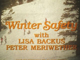 16mm Winter Safety 1981 By David Phillips W/ Lisa Backus & Peter Meriwether