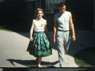"""16mm Home Movie Film 1959 Texas A&m Students """" Talent Tour """" Like Grease For Real"""