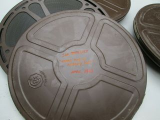 Rare 16mm Film Sam Benedict Tears For A Nobody Doll 1962 Classic Law & Order Tv
