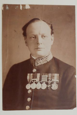 Circa 1919 Photo Winston Churchill First Lord Of The Admiralty