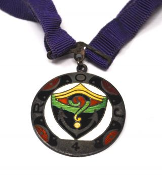 Royal Order Of Jesters Roj San Francisco Court 4 Medallion