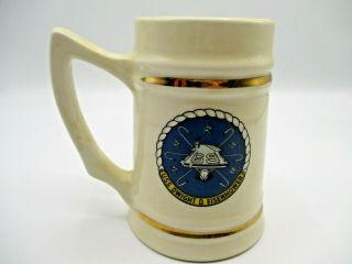 Uss Dwight D Eisenhower Limited Edition Numbered Beer Stein Vintage
