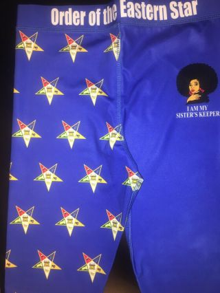 Order Of The Eastern Star Leggings Large Sized Runs Small