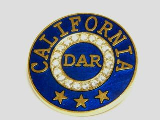 California Dar State Membership Pin - Last 2 Pins - Item Will Not Be Relisted