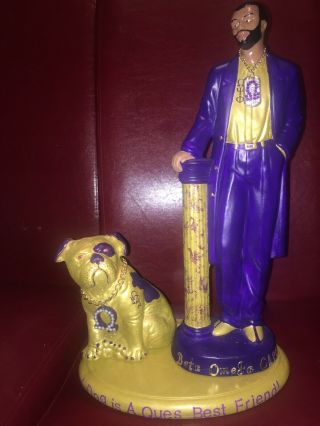 Omega Psi Phi Fraternity A Dog Is A Que's Best Friend