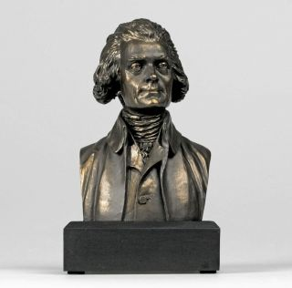 Thomas Jefferson Bust Statue - Founding Father - Great American - Gift Boxed