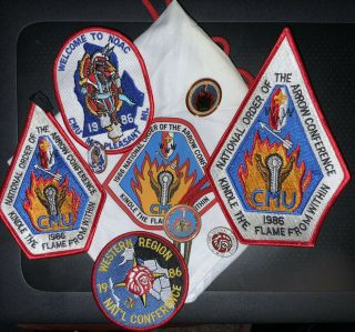 1986 National Order Of The Arrow Conference,  Oa,  Noac,  Central Michigan Univ