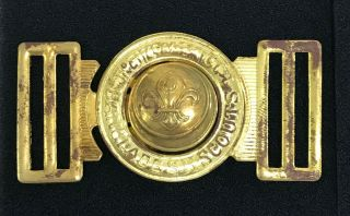 Scouts Of Bangladesh - Youth Scout Member & Scout Leader Official Metal Buckle