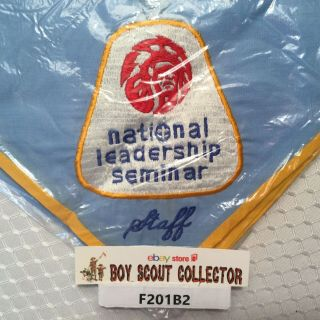Boy Scout National Order Of The Arrow Leadership Seminar Staff Neckerchief