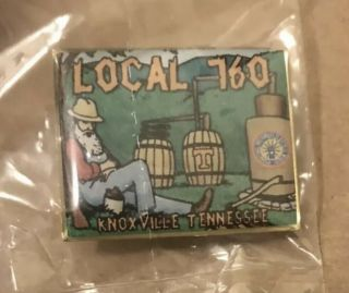 Ibew Local Union 760 Knoxville,  Tennessee Lapel Pin University Of Tennessee