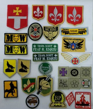 Boy Scout Badges Argentina Independent Scouts Mercedes