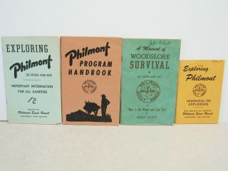 Vintage 1950s Boys Scouts Of America Philmont Scout Ranch Books