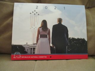 Republican National Committee 2013 Card And 2021 Melania Calendar