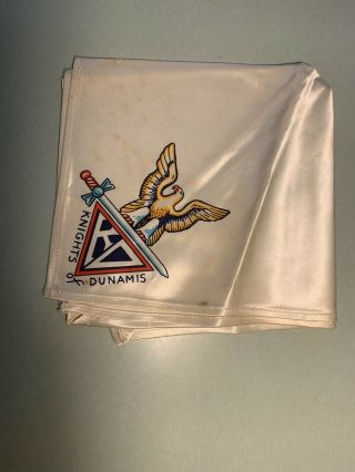Knights Of Dunamis Eagle Scout Neckerchief Satin (c2 -