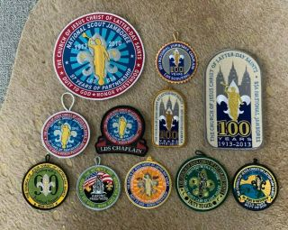 Bsa Boy Scouts Lds Latter Day Saints Patch Bundle