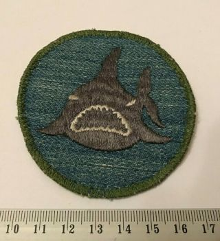 Shark Patrol Patch 1960s Cloth Back Vintage Boy Scouts Of America Bsa