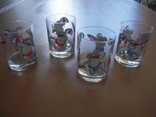 Lowball Bar Glasses From The 1988 Republican Convention - Orleans