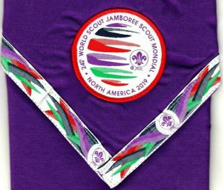 24the World Scout Jamboree Scout Mondial North America 2019 Necker / Scarf Rare