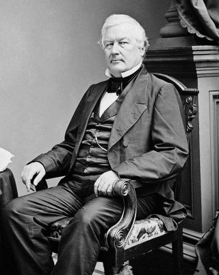 President Millard Fillmore Portrait 11x14 Silver Halide Photo Print