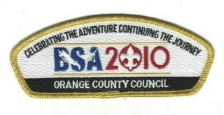Bsa Orange County Council - 2010 Centennial Committee Issue