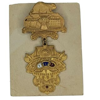 1913 89th Annual Session Grand Lodge Minneapolis Ioof Medal