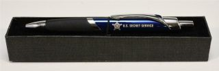 President Barack Obama Era Boxed Secret Service Ballpoint Pen White House Gift