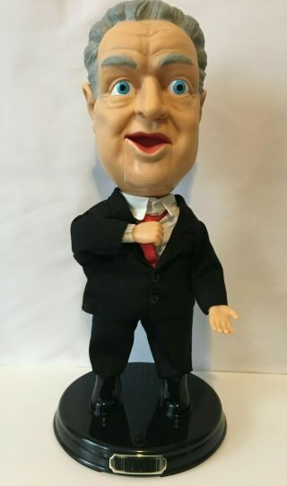 Rodney Dangerfield 2003 Gemmy Collector Edition Animated Figure Doll