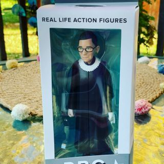 Ruth Bader Ginsburg Rbg Real Life Action Figure Fctry,  Save On Mult