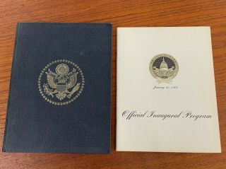 President Inaugural Story Hc Book,  Official Inaugural Program 1969 Richard Nixon