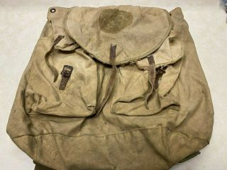 Early Official Boy Scout Backpack / Haversack