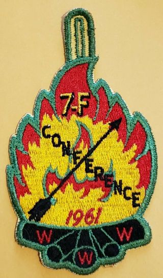 Area 7 - F 1961 Conference Pocket Patch.