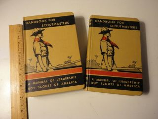 Handbook For Scoutmasters Vol 1 & 2 (hardcover)