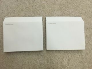 """50 Official White House Mailing Envelopes - 8 """" X 6 """" Size"""