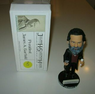 President James A.  Garfield Bobblehead Limited Edition Figure 43