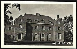 Rppc Grand Forks Nd Univ Of N.  D.  Sigma Nu Fraternity House
