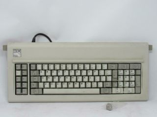 Vintage Ibm Model F Xt Keyboard 4 Pin Connection For Pc