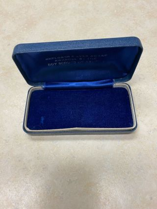 Boy Scout Explorer Silver Award Type 1 Box Only