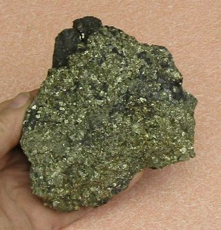 Large,  Heavy Mineral Specimen Of Pyrite & Sphalerite From White Pine Co. ,  Nevada