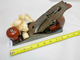 Plane,  Union Mfg.  Co.  Vintage No.  4 Woodworkers Wood Plane,  Britain,  Ct,  Usa